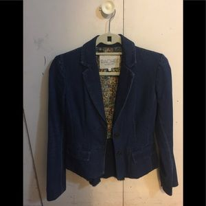 Jean jacket blazer. Very chic